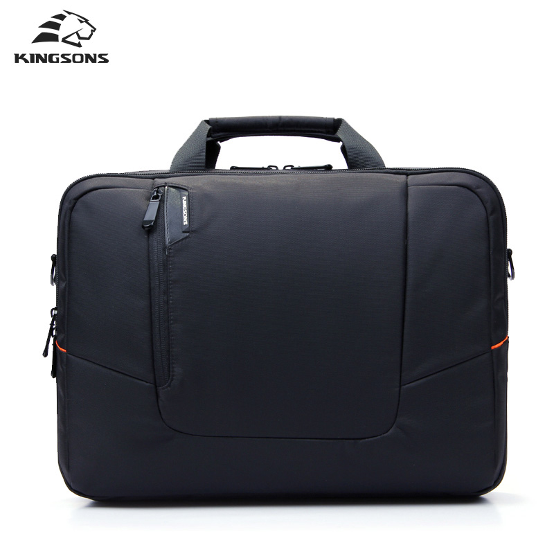 Kingsons Brand Nylon Waterproof Laptop Computer Notebook Bag For Men Business Briefcase Shoulder Messenger Bag