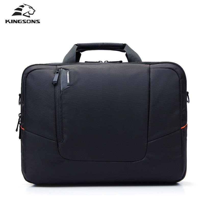Kingsons Brand Nylon Waterproof Laptop Computer Notebook Bag For Men Business Briefcase Shoulder Messenger Bag