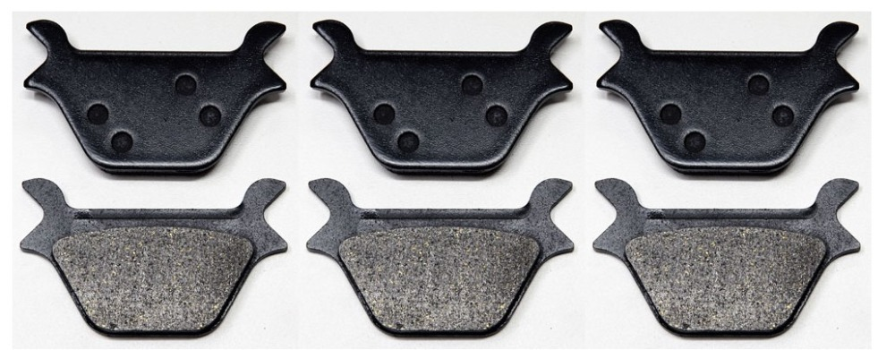 US $34 96 8% OFF|6pcs 3 SETS REAR BRAKE Pads Fits HARLEY FXR FXL FXS FLS XL  DYNA SOFTAIL SPORTSTER-in Brake Disks from Automobiles & Motorcycles on