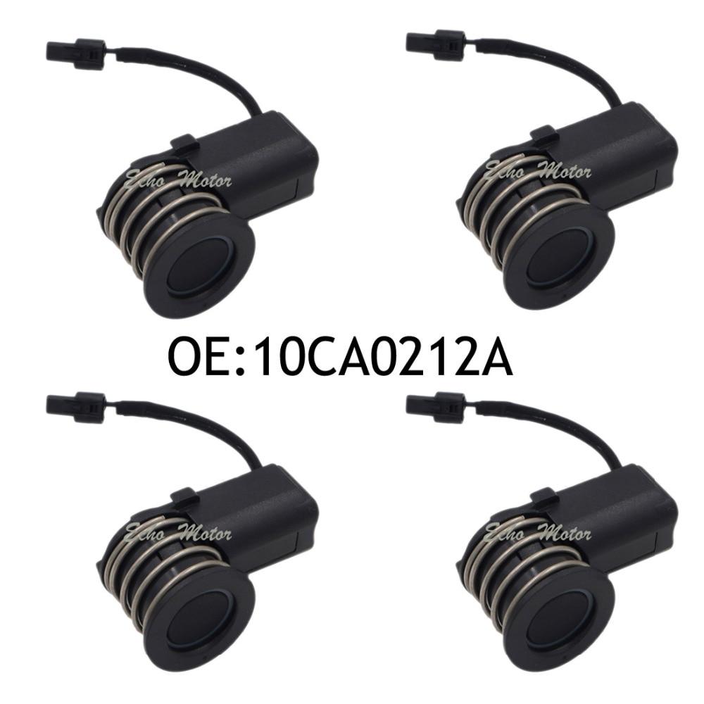 New 4PCS Original Parking Sensor 10CA0212A Ultrasonic/PDC Sensor For Toyota Yaris Mazda new set 4 89341 0c010 42342 parking ultrasonic sensor for toyota tundra 2014 2015 left right 0c010 42342
