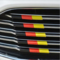 ABS Car Grille Covers Trim For Ford Focus C-max Fiesta Galaxy Mondeo S-max 2015 2016+ Car Styling Stickers Accessories