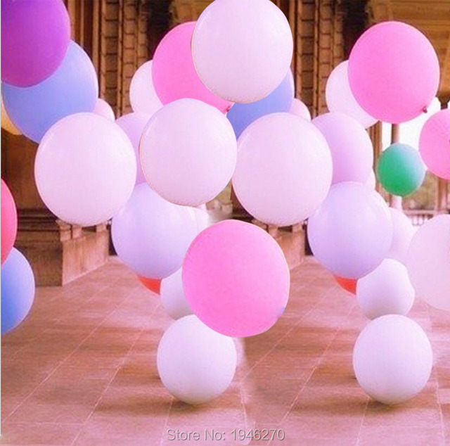 Super Size 36inch 90cm Helium Latex Balloon Wedding Decorations Event Party  Supplies Birthday Favors 10pc/