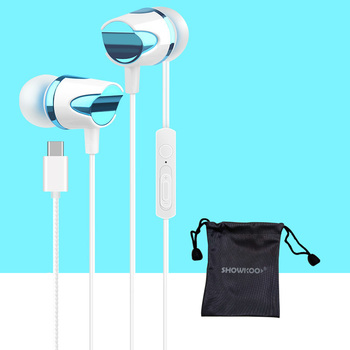 Showkoo Hot sale USB type-c In-ear earphone for Letv 2 Pro max2 X520 X620 earbuds with mic high quality usb type-c headphone