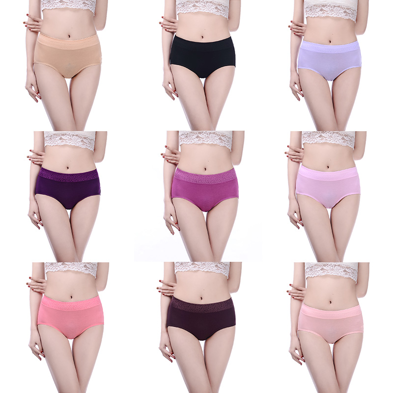 29d7b8719a72 Innsly Underwear Women Panties Seamless Breathable Modal Slimming Mid Rise  Big Size Solid Female Sexy Briefs Women's Panties-in Briefs from Underwear  ...