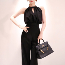2019 Summer Women Jumpsuits Casual slim Fashion Elegant Office Lady Wo