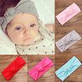 Cute Kids Girl Baby Toddler Crochet Bow Headband Hair Band Accessories Headwear