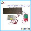 3 ШТ. P10 RGB led дисплей модули + 1 шт. xixun асинхронный полноцветный светодиодный контроллер C10 + 1 шт. 5V40A светодиодный источник питания