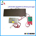 3 PCS P10 RGB levou módulos de display + 1 pcs xixun assíncrona full color led controlador C10 + 1 pcs 5V40A levou fonte de alimentação