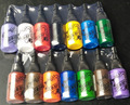 Ship From Russian 14Colors Tattoo Ink Pigment Set 0.5OZ 15ml For  Tattoo Supply