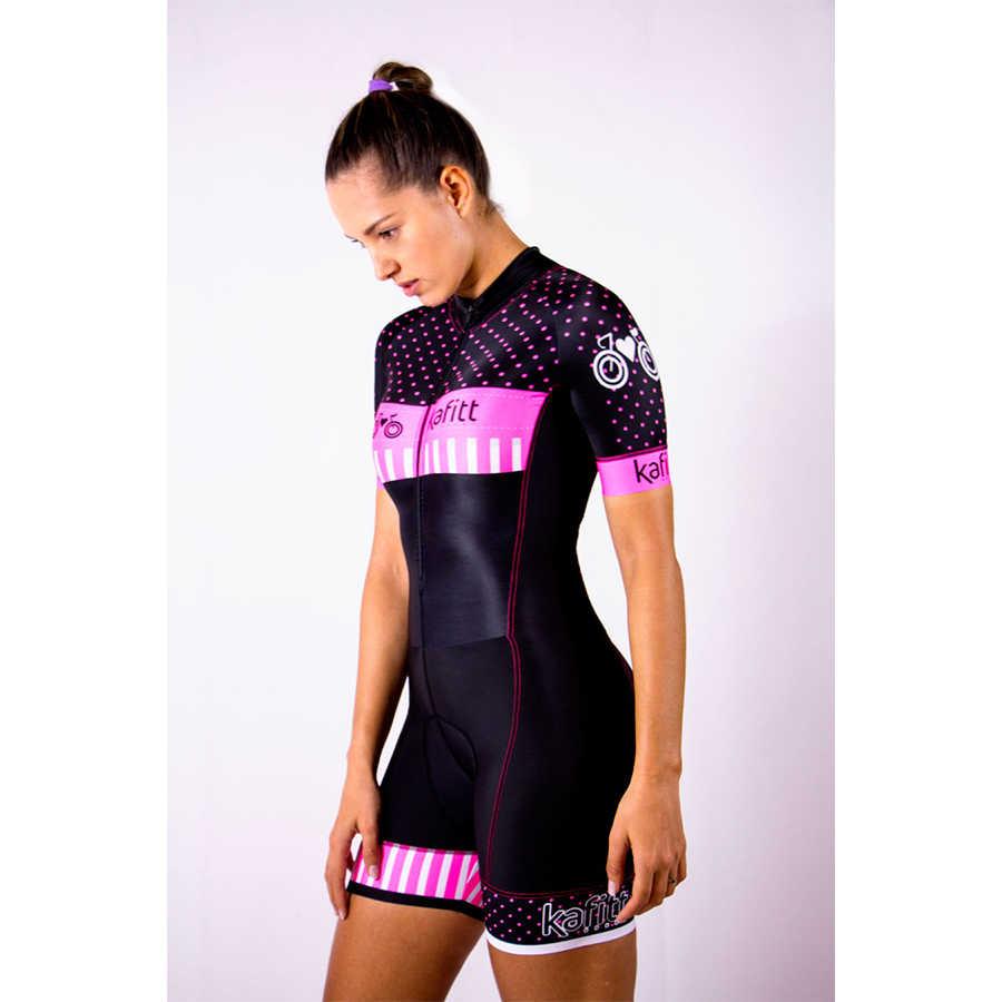 venta limitada Mejor precio 100% de alta calidad Kafitt 2019 Pro Team Triathlon Suit Women's Cycling Jersey ...