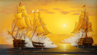 Hot Saleing New Full DIY Diamond Embroidery The Voyage Of The Sailing Diamond Drawing Special Square