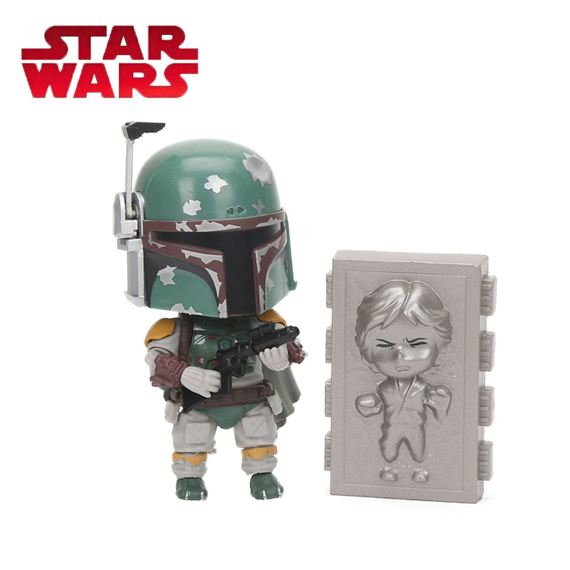10cm Nendoroid Star Wars Toy Episode V The Empire Strikes Back Boba Fett 706 PVC Action Figure Star Wars Collectible Model Toys playarts kai star wars stormtrooper pvc action figure collectible model toy