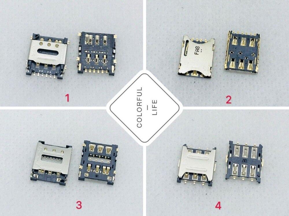 Micro relógio inteligente nano, relógio inteligente criança, sim/tf, soquete, conector, bandeja, suporte, adaptador, placa mãe, cabo flexível peça de reparo