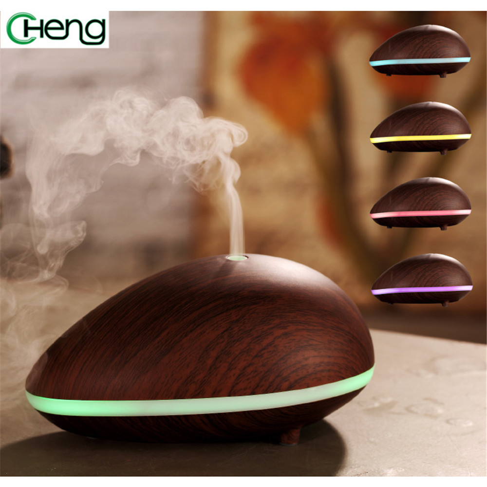 7 Colors Changs LED Light Air Aroma Humidifier Essential Oil Aroma Diffuser Mist Maker Ultrasonic Humidifier Diffuser household crdc air humidifier ultrasonic 100ml aroma diffuser glass essential oil diffuser mist maker with 7 colors changing led light