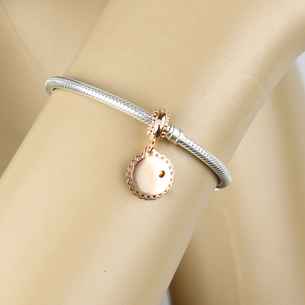 Beads & Jewelry Making Jewelry & Accessories Lovely Fit Original Pandora Charm Bracelet 925 Sterling Silver Bead You Are My Sunshine Pendant Charm Bead Bangle Diy Jewelry Berloque
