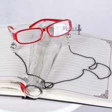 Черный Дворецкий грэлл Сатклифф очки красный череп цепи очки Аксессуары для косплея включают очки и две цепи