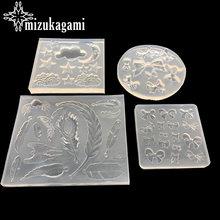 1 шт УФ полимерные ювелирные изделия Жидкая силиконовая форма