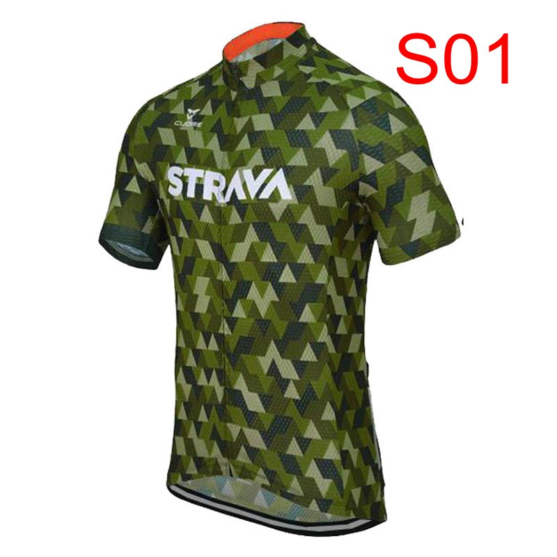 ALI shop ...  ... 32965819670 ... 3 ... 2018 STRAVA Men short sleeve cycling jerseys Cycling jerseys mtb cycle bike only shirt cycling clothing Maillot Ciclismo K122409 ...