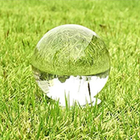 10 Pieces 60mm Natural Clear Quartz Crystal Ball Glass Sphere for Photography Decoration