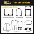 Free Shipping 14PCS/SET Carbon Fiber Interior Dashboard Trims for Porsch  Macan 14-17
