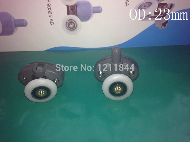 od23mm room pulley old fashioned pulley sliding door hanging