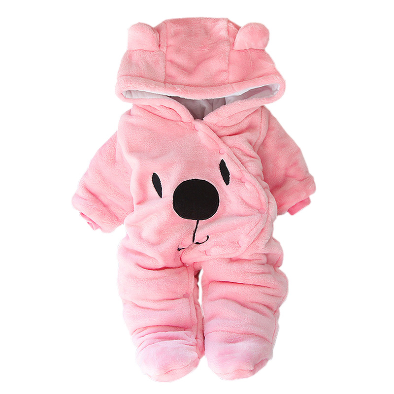 Baby Winter Clothes For Baby Girls Overall Autumn Long Sleeve Newborn Costume Baby Romper For Baby Boys Jumpsuit Infant Clothing