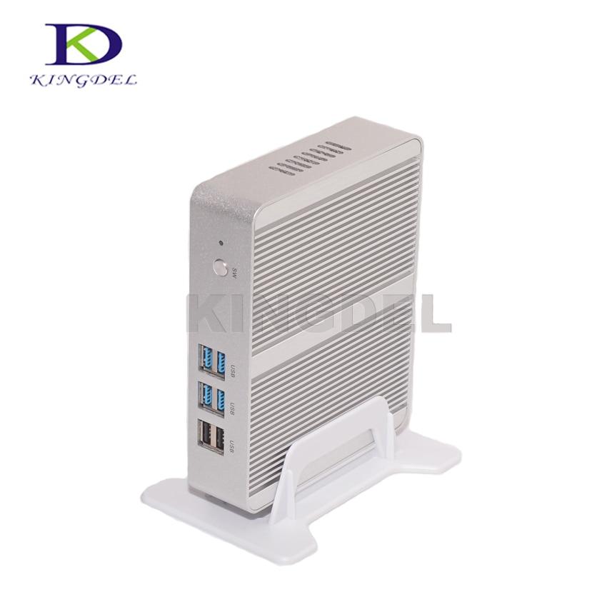 14nm Business PC Dual Core i3 4005U i3 7100U Fanless Mini PC