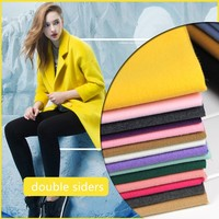 1 meter fake wool tweed fabric for sewing width 59 inches heavy double side cloth keep warm fabrics tecido fat quarters DIY