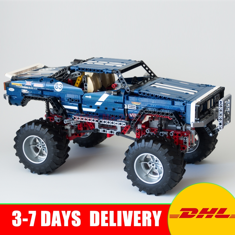 2017 LEPIN 20011 technic series Super classic limited edition of off-road vehicles Building Blocks Bricks Toys Gifts Clone 41999 lepin 20011 technic series remote control electric off road vehicles set diy model car building kits blocks bricks children toys