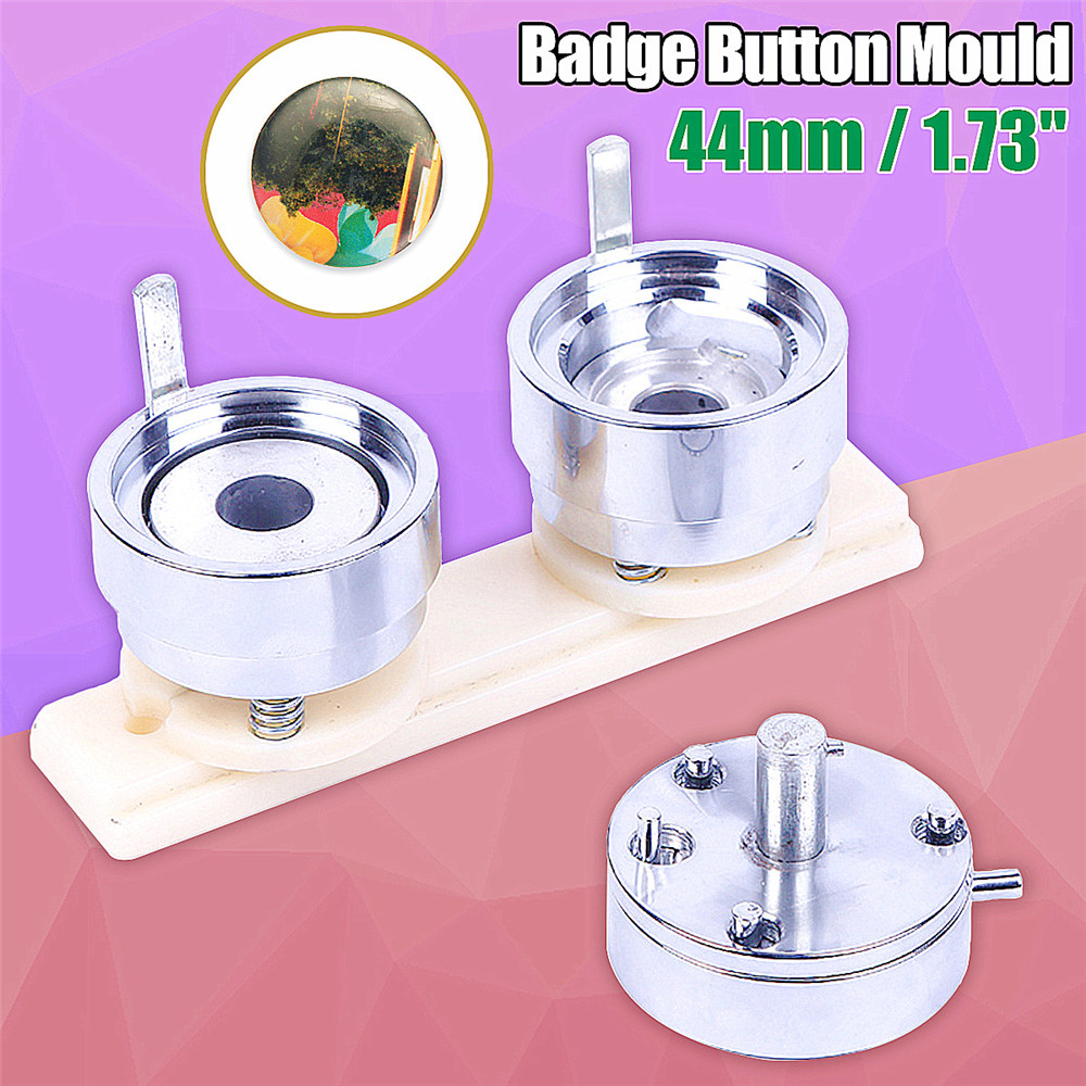 US $49 9 16% OFF|44mm 1 73'' Badge Pin Making Mould Button Maker Punch  Press Machine Metal Tool-in Maker Molds from Home & Garden on  Aliexpress com |