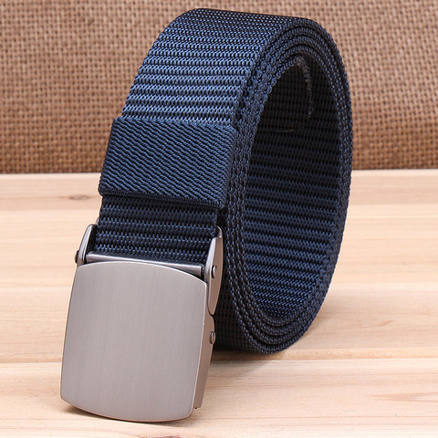 Military Tactical Nylon Belts Men Army Combat Heavy Duty Adjustable Belt Male Quick Dry Breathable Automatic Plastic Buckle Belt Karachi