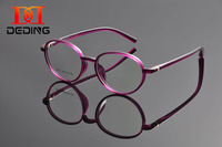 DeDing High Quality Factory Price Sale Cheap Discount Unisex Clear Lens Optical Glasses Frame For Myopia