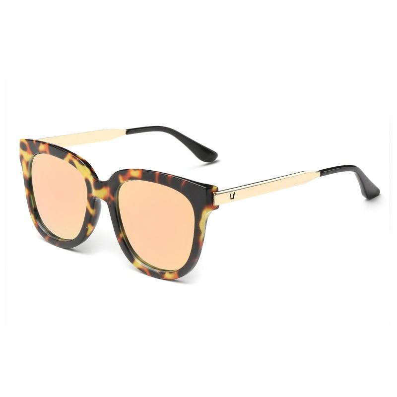 Alta Qualidade Quadro Leopard Praça Oversized Sunglasses Mulheres Marca  Designer Revestimento Colorido Óculos Feminino Óculos De Sol Gafas De Sol 6d9d3fb02b