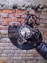 Harley Quinn And Joker Decal Wall Clock