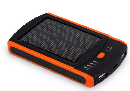 Real 6000 mah Solar Mobile Power Bank <font><b>6000mah</b></font> Solar Powerbank External Battery Pack Charger for iphone samsung <font><b>cellphone</b></font>
