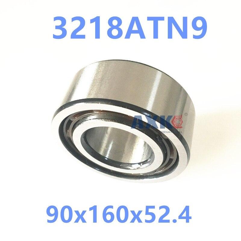 1PCS 3218ATN9 3218 3218A 5218 90x160x52.4 3218-B-TVH 3056218 3218B Double Row Angular Contact Ball Bearings  AXK  Bearing