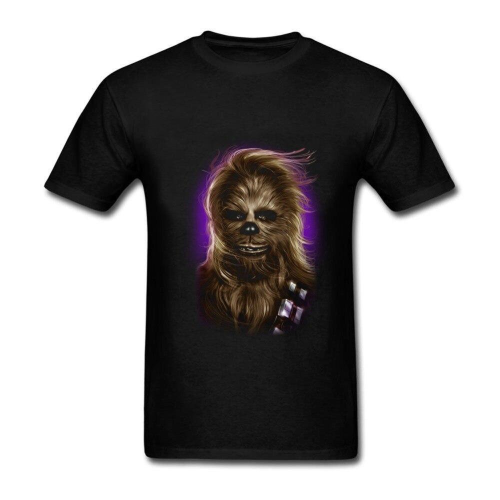 2018 Звездные войны Чубаккаs гламур снимков футболки masculino glamorous одежда Звездные войны Мужская футболка
