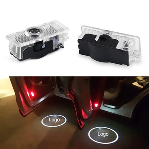 2 Pcs Car Logo Door Welcome Light Car LED Projector Laser For Mercedes-Benz CLA welcome lamp CLA CLS A207 C207 Car Light