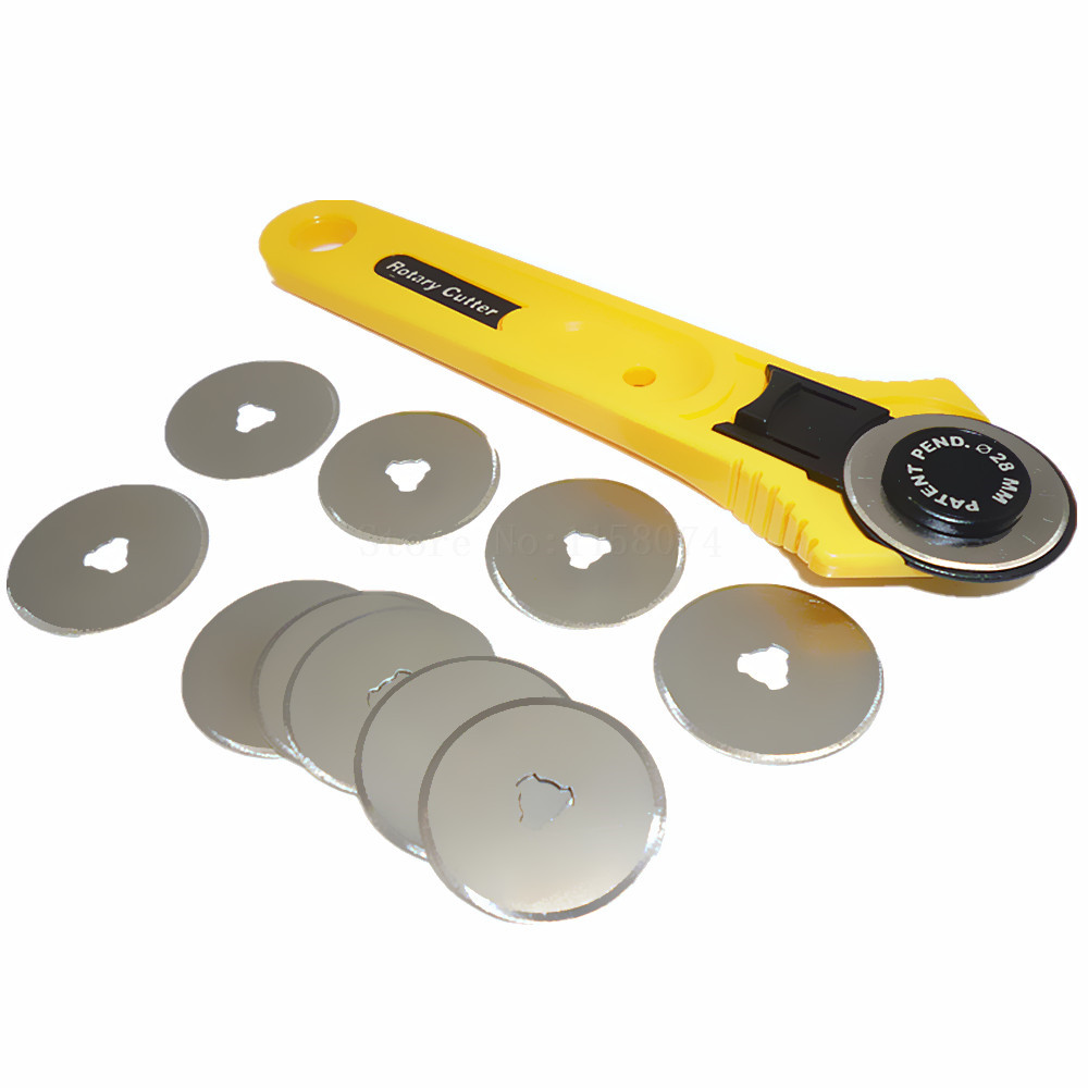 10pc 28mm rotary cutter replace blades sewing craft tool for Craft vinyl cutter reviews