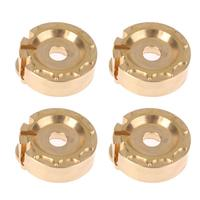 4pcs Counterweight Steering Block Wheel Knuckle Axle Balance Weight for 1/10 RC Traxxas TRX 4 Trail Crawler Truck