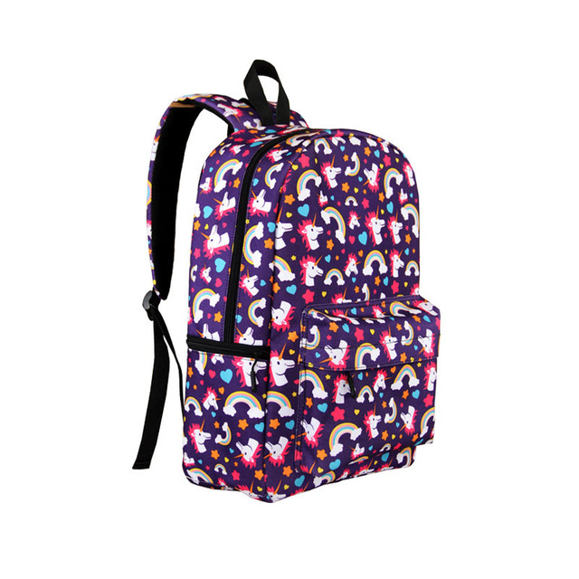 ac2d55fdbd3c rainbow schoolbag unicorn backpacks for girls oxford shoulder bag pack  women backpack laptop rugtas mochila unicornio escolar