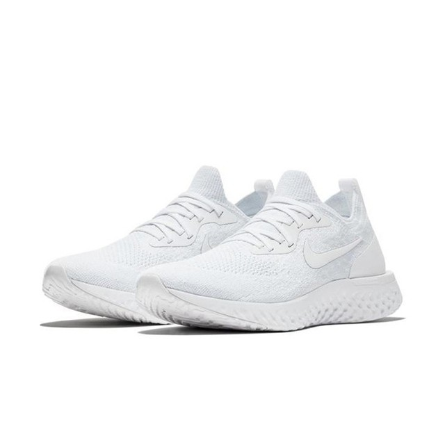 NIKE EPIC REACT FLYKNIT Original Womens And Mens Running Shoes Breathable Stability Support Sports Sneakers Shoes#AQ0067-102