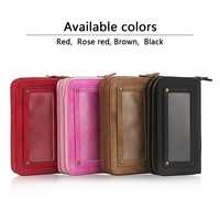 For Samsung Galaxy Note3 4 5 S5 S6 Edge Plus S7 Edge Case High Grade Leather