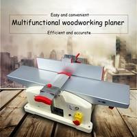 220V 1280W Home Woodworking Bench Planer Flat Wood Planer High Speed Wood Planer Copper Motor JJP
