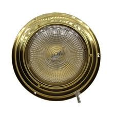 Автомобильный внутренний купольный свет 137 мм/170 мм База Морской лодки яхты 3 Вт теплый белый верхний свет