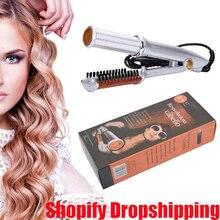 Щетка для волос, быстрый выпрямитель для волос, щипцы для завивки и выпрямления, парикмахерские инструменты, электрические щипцы для завивки и выпрямления волос