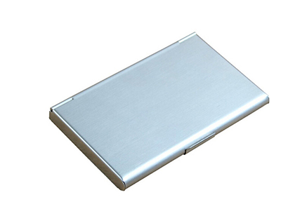 New Business Id Credit Card Case Metal Fine Box Holder Pocket 9.3x5.7x0.7cm Office & School Supplies