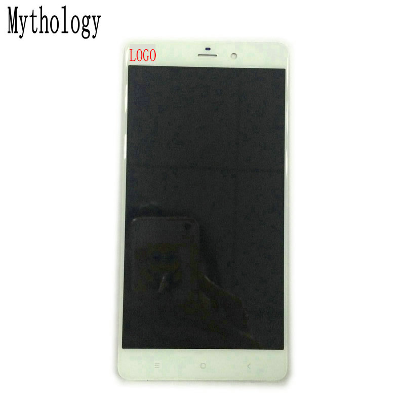 Mythology For Xiaomi Mi Note Pro/Mi Note 5.7 Inch Touch Screen Display Replacement White Touch Panel Moible Phone LCD
