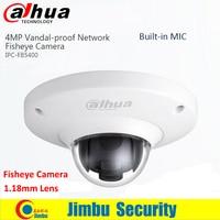 2016 New Dahua IPC EB5400 4 MP Full HD PoE WDR Panorama 360 Degree Fisheye Dome