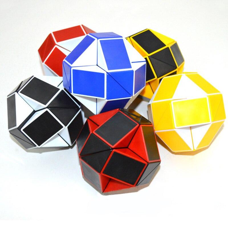 Magic 24 Twist Blocks Snake Puzzle Ruler Cubes Ruler Toys Educational Toys For Children S7JN